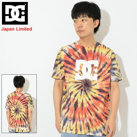 ディーシー DC Tシャツ 半袖 メンズ タイダイ 日本限定(dc Tie Dye S/S Tee Japan Limited ティーシャツ T-SHIRTS カットソー トップス メンズ 男性用 5226J813)[M便 1/1]