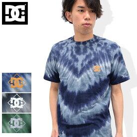 ディーシー DC Tシャツ 半袖 メンズ シングル スター 2 タイダイ(dc Single Star 2 Tie Dye S/S Tee ティーシャツ T-SHIRTS カットソー トップス メンズ 男性用 ADYZT04036)[M便 1/1] ice filed icefield