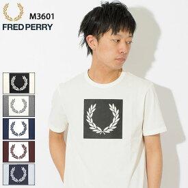 フレッドペリー FRED PERRY Tシャツ 半袖 メンズ プリンテッド ローレル リース ( FREDPERRY M3601 Printed Laurel Wreath S/S Tee ティーシャツ T-SHIRTS カットソー トップス フレッド ペリー フレッド・ペリー )[M便 1/1]
