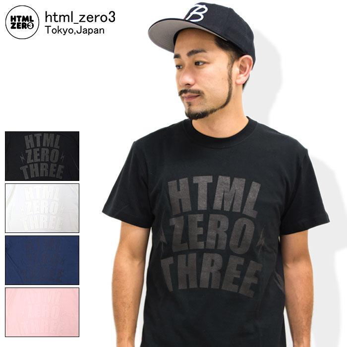 エイチティエムエル ゼロスリー HTML ZERO3 Tシャツ 半袖 メンズ ブリンク ヤード(html zero3 Blink Yard S/S Tee ティーシャツ T-SHIRTS カットソー トップス エイチティーエムエル)