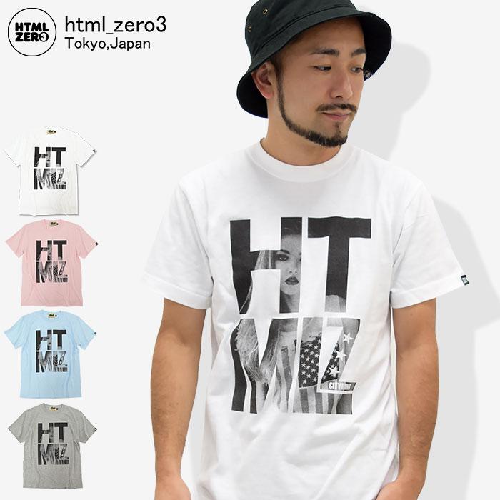 エイチティエムエル ゼロスリー HTML ZERO3 Tシャツ 半袖 メンズ トゥインクル ガール(html zero3 Twinkle Girl S/S Tee ティーシャツ T-SHIRTS カットソー トップス エイチティーエムエル)