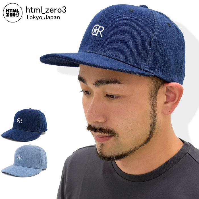 エイチティエムエル ゼロスリー HTML ZERO3 キャップ メンズ デリック ベースボールキャップ(html zero3 Derick Baseball Cap スナップバック 帽子 エイチティーエムエル)