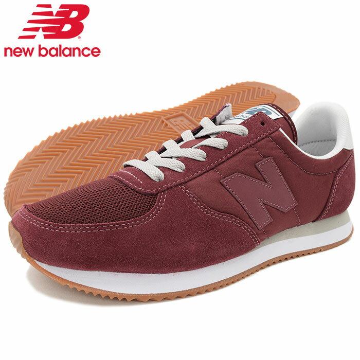 ニューバランス new balance スニーカー メンズ 男性用 U220 ED Burgundy(newbalance U220 ED バーガンディー SNEAKER MENS・靴 シューズ SHOES U220-ED)