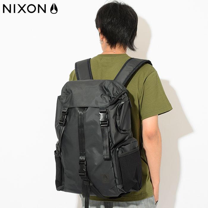 ニクソン nixon リュック ウォーターロック WR バックパック ブラック(nixon Waterlock WR Backpack Black Water Repellent 撥水 耐水 Bag バッグ Daypack デイパック 普段使い 通勤 通学 旅行 メンズ レディース ユニセックス 男女兼用 NC2899001)