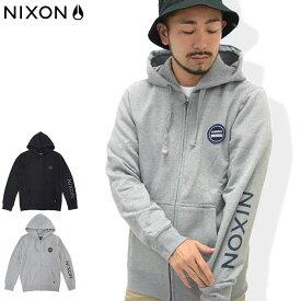 ニクソン nixon パーカー ジップアップ メンズ オックスフォード フル ジップ フーディ(nixon Oxford Full Zip Hoodie フード フルジップ Zip up Hoody Parker トップス メンズ 男性用 NS2294)
