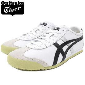 オニツカタイガー Onitsuka Tiger スニーカー メンズ 男性用 メキシコ 66 White/Black ( Onitsuka Tiger MEXICO 66 ホワイト 白 SNEAKER MENS・靴 シューズ SHOES DL408-0190 )