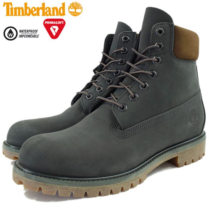 【日本正規品】ティンバーランド Timberland ブーツ メンズ アイコン 6インチ プレミアム ダークアーバン シック ウォーターバック ヌバック(A17Q4 ICON 6inch Premium Boot Dark Urban Chic Waterbuck Nubuck 防水 男性用 MENS・靴 メンズ靴)