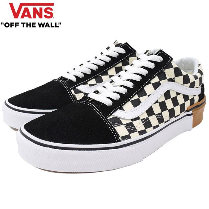バンズ VANS スニーカー メンズ 男性用 オールドスクール Checkerboard ガムブロック(vans VN-0A38G1U58 Old Skool Gum Block ローカット チェッカーボード SNEAKER MENS・靴 シューズ SHOES ヴァンズ)
