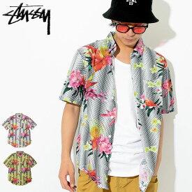 ステューシー STUSSY シャツ 半袖 メンズ Psychedelic Dot Floral ( stussy shirt カジュアルシャツ トップス メンズ・男性用 111931 USAモデル 正規 品 ストゥーシー スチューシー )
