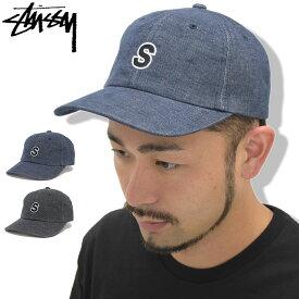 ステューシー STUSSY キャップ 帽子 Melange Cord Low Cap(ローキャップ ストラップバック メンズ・男性用 131717 USAモデル 正規 品 ストゥーシー スチューシー)