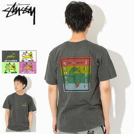 ステューシー STUSSY Tシャツ 半袖 メンズ Keep Cool Babylon Pigment Dyed ( stussy tee ピグメント ティーシャツ T-SHIRTS カットソー トップス メンズ 男性用 1904200 USAモデル 正規 品 ストゥーシー スチューシー )[M便 1/1]