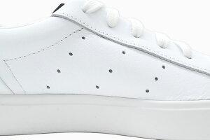 アディダスadidasスニーカーレディース女性用ウィメンズアディダススリークRunningWhite/CrystalWhiteオリジナルス(adidasWOMENSADIDASSLEEKOriginalsADIDASSLEEKWホワイト白LADIES・靴シューズSHOESDB3258)