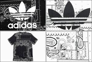 アディダスadidasTシャツ半袖メンズバンダナオリジナルス(adidasBandanaS/STeeOriginalsティーシャツT-SHIRTSカットソートップスメンズ男性用DX4201DX4202)[M便1/1]icefiledicefield