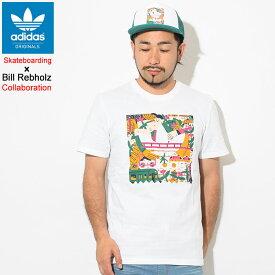アディダス adidas Tシャツ 半袖 メンズ ビル レブホルツ エッジウッド コラボ オリジナルス(adidas×Bill Rebholz Edgewood S/S Tee Originals Skateboarding スケートボーディング ティーシャツ T-SHIRTS カットソー トップス メンズ 男性用 DU8362)[M便 1/1]