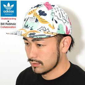 アディダス adidas キャップ ビル レブホルツ ビル AOP スナップバックキャップ コラボ オリジナルス(adidas×Bill Rebholz Bill AOP Snapback Cap Originals Skateboarding スケートボーディング 帽子 メンズ レディース ユニセックス 男女兼用 DU8286)
