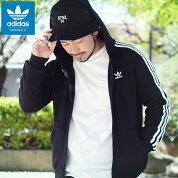 アディダスadidasパーカージップアップメンズ3ストライプスフルジップフーディオリジナルス(adidas3StripesFullZipHoodieOriginalsフードフルジップスウェットZipupHoodyParkerトップスメンズ男性用DV1551ED5969)