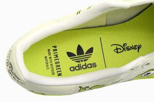アディダスadidasスニーカーメンズ男性用ディズニースタンスミスOffWhite/Pantone/CoreBlackコラボオリジナルス(adidas×DisneySTANSMITHOriginalsマイクSNEAKERMENS・靴シューズSHOESFZ2706)icefieldicefield