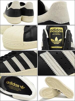 アディダスadidasスニーカーメンズ男性用スーパースター80sCoreBlack/White/Goldオリジナルス(adidasSUPERSTAR80sOriginalsブラック黒SNEAKERMENS・靴シューズSHOESBB2232)icefiledicefield