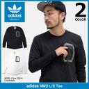 アディダス adidas Tシャツ 長袖 メンズ NMD オリジナルス(adidas NMD L/S Tee Originals ティーシャツ T-SHIRTS ロン…