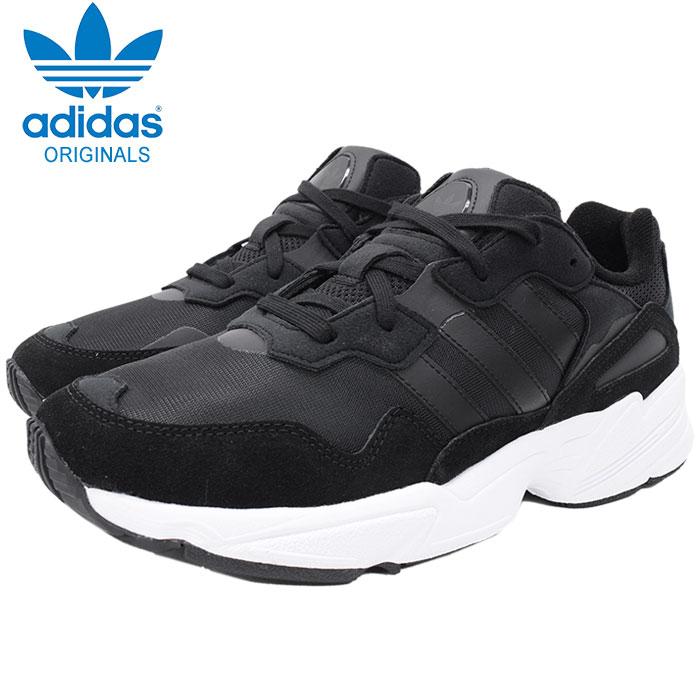 アディダス adidas スニーカー メンズ 男性用 ヤング 96 Core Black/Core Black/Crystal White