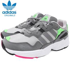 アディダス adidas スニーカー メンズ 男性用 ヤング 96 Grey/Shock Pink オリジナルス(adidas YUNG-96 Originals ダッドシューズ ダッドスニーカー SNEAKER MENS・靴 シューズ SHOES F35020)