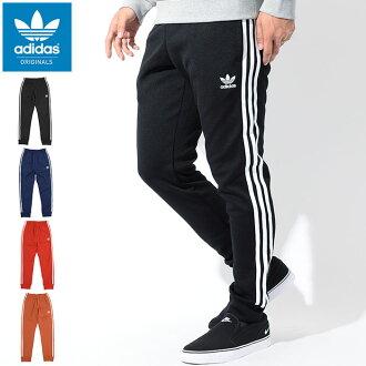 아디다스 adidas 저지 슈퍼스타 カフド 트랙 져 지 팬츠 블랙/화이트 オリジナルス (Super Star Cuffed Track Jersey Pant Black/White Originals 스포츠 용품 스포츠 의류 남성 바지/하단 JERSEY S89369)