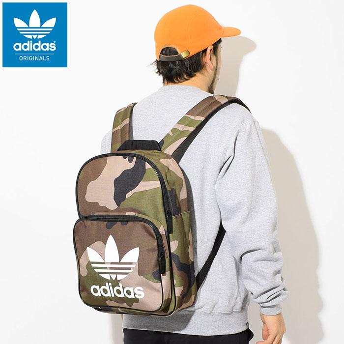 アディダス adidas リュック クラシック カモ バックパック(adidas Classic Camo Backpack Originals Bag バッグ Daypack デイパック 迷彩 普段使い 通勤 通学 旅行 メンズ レディース ユニセックス 男女兼用 DV2474)