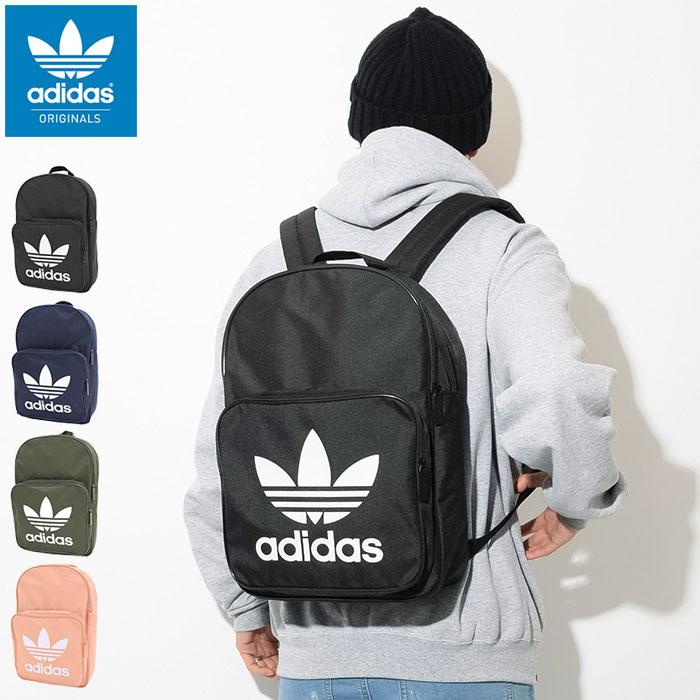 アディダス adidas リュック 19SS トレフォイル クラシック バックパック(adidas 19SS Trefoil Classic Backpack Originals Bag バッグ Daypack デイパック 普段使い 通勤 通学 旅行 メンズ レディース ユニセックス DW5185 DW5189 DW5187 DW5188)