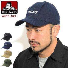 ベンデイビス BEN DAVIS キャップ ツイル ホワイトレーベル ( BENDAVIS BDW-9483 Twill Cap WHITE LABEL ローキャップ ストラップバック 帽子 メンズ レディース ユニセックス 男女兼用 ベン デイビス ベン・デイビス ベンデービス )