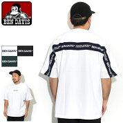 ベンデイビスBENDAVISTシャツ半袖メンズビッグフットボールライン(BENDAVISI-0580031BigFootballLineS/STeeビッグシルエットオーバーサイズティーシャツT-SHIRTSカットソートップスベン・デイビスベンデービス)[M便1/1]