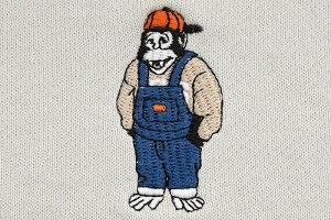 ベンデイビスBENDAVISトレーナーメンズミニゴリラEMBクルースウェット(BENDAVISC-1780040MiniGorillaEMBCrewSweatスエットトレナートレイナートップスベンデイビスベン・デイビスベンデービス)icefieldicefield