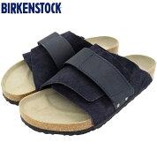 ビルケンシュトックBIRKENSTOCKサンダルメンズ男性用キョウトスエードヌバックMidnight(birkenstockKYOTOSUEDE/NUBUCK幅広ノーマルレギュラーネイビー紺SANDALMENS・靴シューズSHOES1020751)