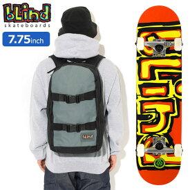 【バッグ付き】ブラインド BLIND スケボー スケートボード コンプリート デッキ 7.75インチ Matte OG FP With Backpack ( 7.75inch 完成品 組み立て済み コンプリートセット ブランド メーカー sk8 COMPLETE リュック バックパック バッグ Bag 大人 初心者 おすすめ )
