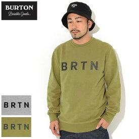 バートン BURTON トレーナー メンズ BRTN クルー スウェット ( burton BRTN Crew Sweat スエット トレナー トレイナー トップス メンズ 男性用 137171 ) ice field icefield