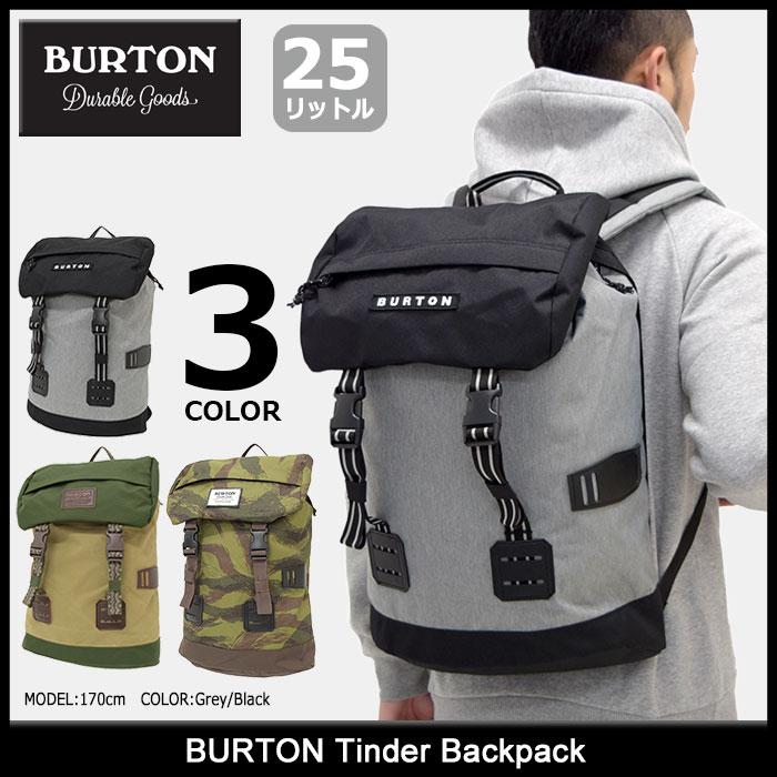 バートン BURTON リュック ティンダー バックパック(burton Tinder Backpack バッグ Bag Daypack デイパック 普段使い 通勤 通学 旅行 メンズ レディース ユニセックス 男女兼用 163371)