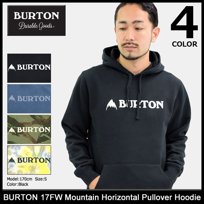 バートン BURTON プルオーバー パーカー メンズ 17FW マウンテン ホリゾンタル(burton 17FW Mountain Horizontal Pullover Hoodie フード フーディ Hoody Parker トップス メンズ 男性用 147741)