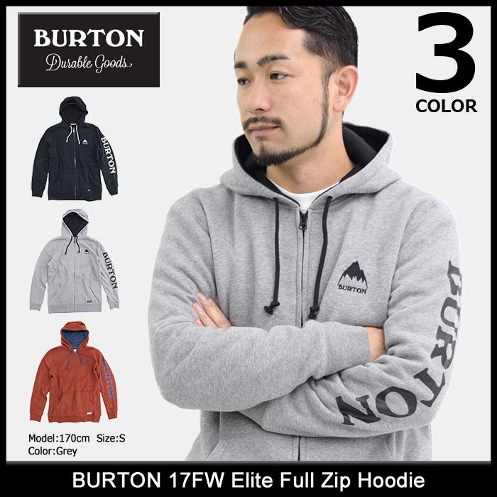 バートン BURTON パーカー ジップアップ メンズ 17FW エリート フル ジップ フーディ(burton 17FW Elite Full Zip Hoodie フード フルジップ Zip up Hoody Parker トップス メンズ 男性用 178841-17FW)