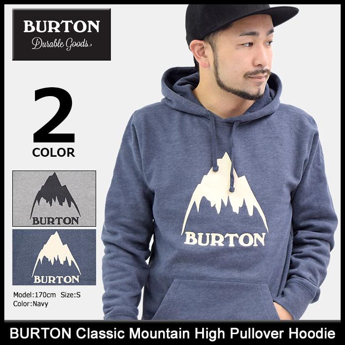 バートン BURTON プルオーバー パーカー メンズ クラシック マウンテン ハイ(burton Classic Mountain High Pullover Hoodie フード フーディ Hoody Parker トップス メンズ 男性用 196821)