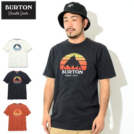 バートン BURTON Tシャツ 半袖 メンズ アンダーヒル(burton Underhill S/S Tee ティーシャツ T-SHIRTS カットソー トップス メンズ 男性用 203781)[M便 1/1] ice filed icefield