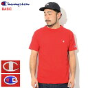 チャンピオン Champion Tシャツ 半袖 メンズ C3-P300 ( Champion C3-P300 S/S Tee BASIC ベーシック 日本企画 無地 ワンポイント Cロゴ…