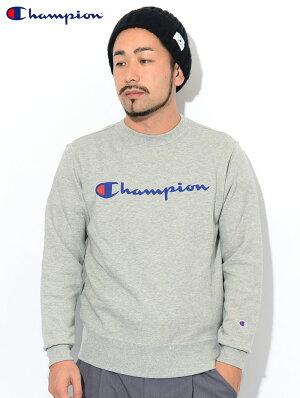 チャンピオンChampionトレーナーメンズC3-Q002クルースウェット(ChampionC3-Q002CrewSweatBASICベーシック日本企画ワンポイントCロゴCマークスウェットシャツスエットトレナートレイナートップスメンズ男性用)