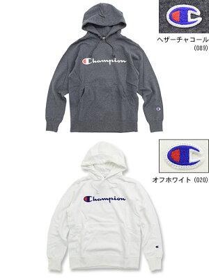 チャンピオンChampionプルオーバーパーカーメンズC3-Q107(ChampionC3-Q107PulloverHoodieBASICベーシック日本企画ワンポイントCロゴCマークフードフーディスウェットシャツトップスPullOverHoodyParkerメンズ男性用)