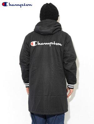 チャンピオンChampionジャケットメンズC3-Q603ハーフコート(ChampionC3-Q603HalfCoatACTIONアクションベンチコート日本企画CロゴCマークJACKETアウタージャンパー・ブルゾンメンズ男性用)