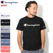 チャンピオンChampionTシャツ半袖メンズC3-H374(ChampionC3-H374S/STeeBASICベーシック日本企画ワンポイントCロゴCマークティーシャツT-SHIRTSカットソートップスメンズ男性用)[M便1/1]icefiledicefield
