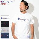 チャンピオン Champion Tシャツ 半袖 メンズ C3-H371(Champion C3-H371 S/S Tee ACTION アクション 日本企画 ワンポイント Cロゴ Cマー…