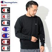 チャンピオンChampionトレーナーメンズC3-C019クルースウェット(ChampionC3-C019CrewSweatBASICベーシック日本企画無地ワンポイントCロゴCマークスウェットシャツスエットトレナートレイナートップスメンズ男性用)