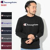 チャンピオンChampionトレーナーメンズC3-H004クルースウェット(ChampionC3-H004CrewSweatBASICベーシック日本企画ワンポイントCロゴCマークスウェットシャツスエットトレナートレイナートップスメンズ男性用)