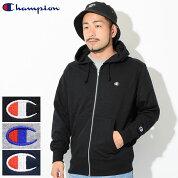 チャンピオンChampionパーカージップアップメンズC3-LS150(ChampionC3-LS150FullZipHoodieTRAININGトレーニング日本企画無地ワンポイントCロゴCマークフードフーディスウェットシャツZipupHoodyParkerトップスメンズ男性用)