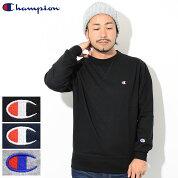 チャンピオンChampionトレーナーメンズC3-LS050クルースウェット(ChampionC3-LS050CrewSweatTRAININGトレーニング日本企画無地ワンポイントCロゴCマークスウェットシャツスエットトレナートレイナートップスメンズ男性用)