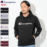 チャンピオンChampionプルオーバーパーカーメンズC3-J117(ChampionC3-J117PulloverHoodieBASICベーシック日本企画ワンポイントCロゴCマークフードフーディスウェットシャツトップスPullOverHoodyParkerメンズ男性用)